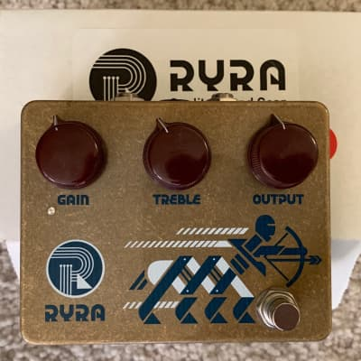 RYRA Klone Overdrive Pedal Gold