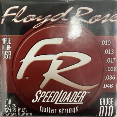 Floyd Rose FR1046 Speedloader Guitar Strings for 24 3/4 Scale Made in the USA for sale