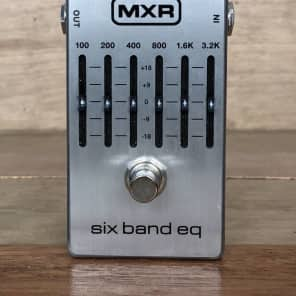 MXR M109S 6-Band Graphic EQ Pedal for sale