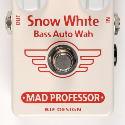 Mad Professor Snow White Bass Autowah Hand Wired Guitar Effects Pedal. Made in Finland for sale
