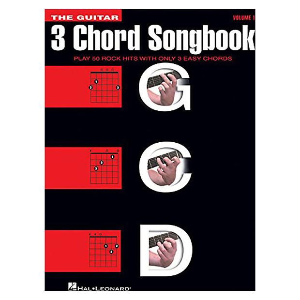 Hal Leonard The Guitar Three Chord Songbook Play 50 Rock Reverb