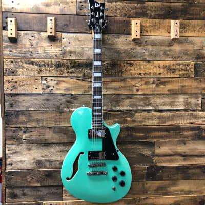 ESP LTD PS-1 Xtone Semi-Hollow Seafoam Green
