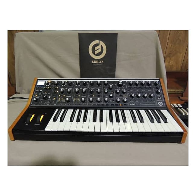 Moog Sub 37 Praphonic analog synthesizer | Three Wave Music