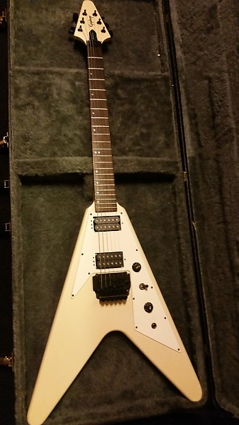 bd7973d15b61 Epiphone Flying V 1989 Off-white