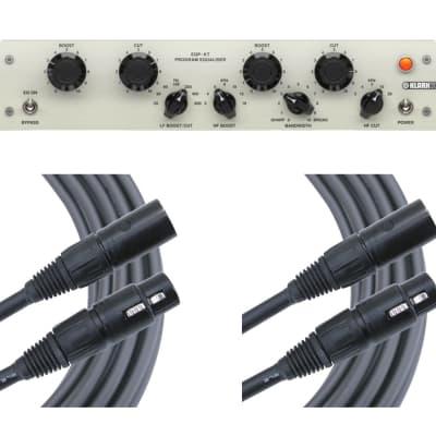 Klark Teknik EQP-KT + 2x 6' Mogami XLR Cables