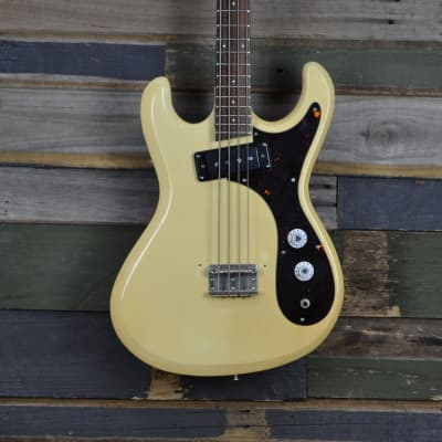 Guyatone EB-2 Bass from the 1960's in Cream for sale