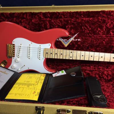 Fender Custom Shop 56 Stratocaster NOS Fiesta Red Maple Fretboard for sale