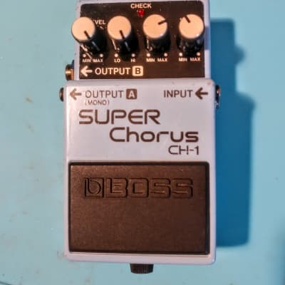 Boss CH-1 Super Chorus analog serviced & modded