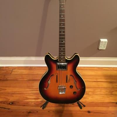 Guild Starfire Bass Guitar 1966 Bi-Sonic pup for sale