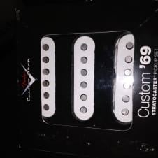 Fender Custom Shop 69 Stratocaster Pickup Set Abigail Ybarra AY Rare Collectors Item Strat Wound Sss Single