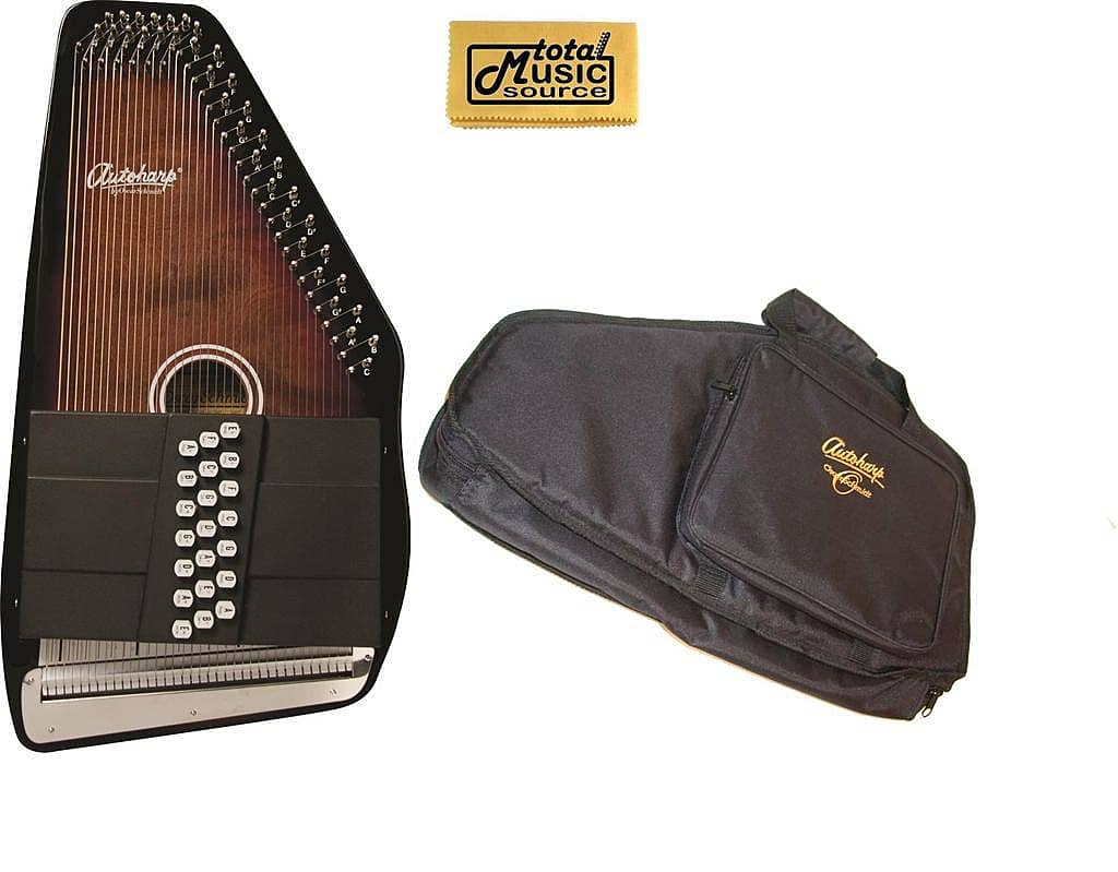 1562343 Oscar Schmidt 21 Chord Autoharp Gig Bag Select Maple Sunburst Finish Os21c on oscar schmidt os21c autoharp