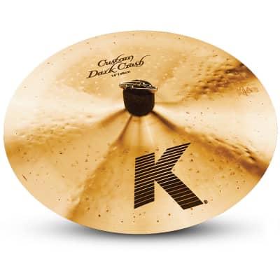 "Zildjian 14"" K Custom Dark Crash Cymbal"