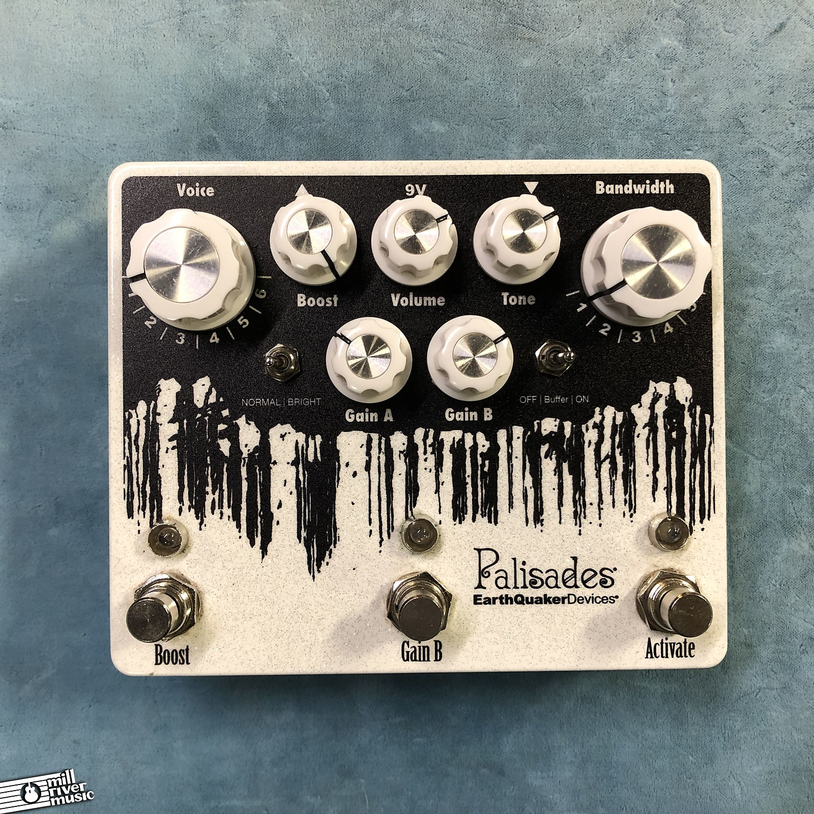 EarthQuaker Devices EQD Palisades Mega Ultimate Overdrive V2 Effects Pedal w/ Box