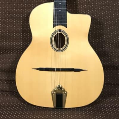Altamira Model M Gypsy Jazz Guitar with Hardshell Case for sale