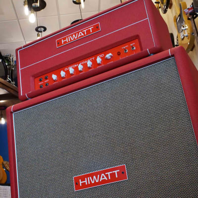 Hiwatt Custom 100 DR103 with matching 4x12 cabinet for sale