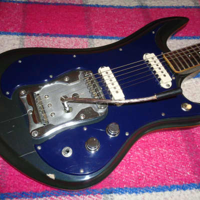 Guyatone LG-350T 1960's Blue for sale