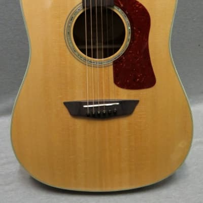 Washburn HD100SWCEK Acoustic Guitar With Torrefied Solid Sitka Spruce Top With Hardshell Case