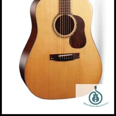 Cort Gold Series Dreadnaught D6, Solid Sitka Spruce Top, Solid Mahogany B&S, DoubleLock Neck Joint