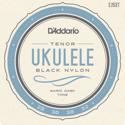 D'Addario EJ53T Tenor Ukulele Strings