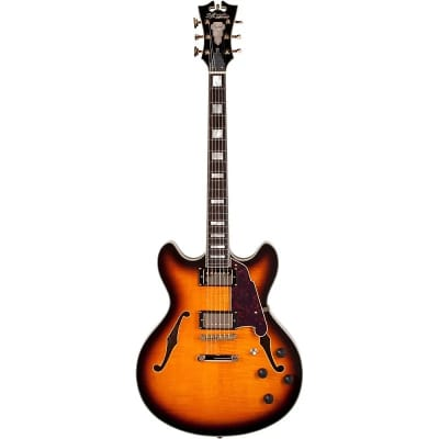 D'Angelico Excel EX-DC Semi-Hollow with Stop-Bar Tailpiece