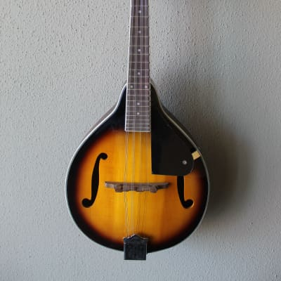 Brand New Rover RM-25S Student A Style Mandolin with Gig Bag - Sunburst for sale