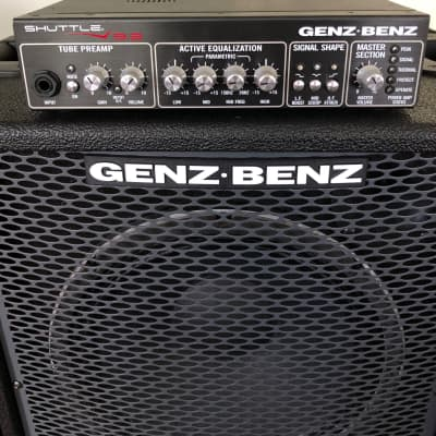 Genz Benz SHUTTLE 9.2 BASS AMP  & NEOX2-212T CABINET 2017 BLACK for sale