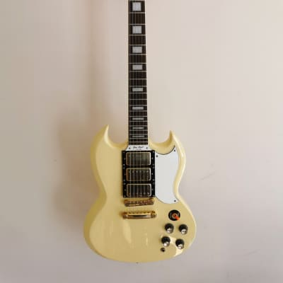 Epiphone G-400 Custom Ivory Made in 2000, Unsung Factory, Korea for sale