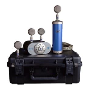 BLUE MICROPHONES BOTTLE MIC LOCKER Large Diaphragm 4 Capsule Package