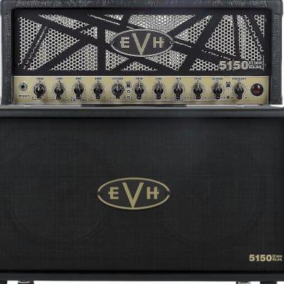 EVH  5150III EL34 50W Tube Head and matching 212 cab., Black/Gold