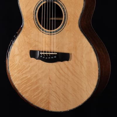 Kevin Ryan Nightingale Grand Soloist w/ Figured East Indian Rosewood and Shell Upgrade (011) for sale