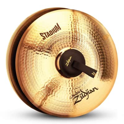 "Zildjian 19"" A Stadium Medium Heavy Marching Cymbal"