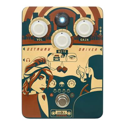 Orange Getaway Driver Amp Simulator Guitar Effects Pedal NEW