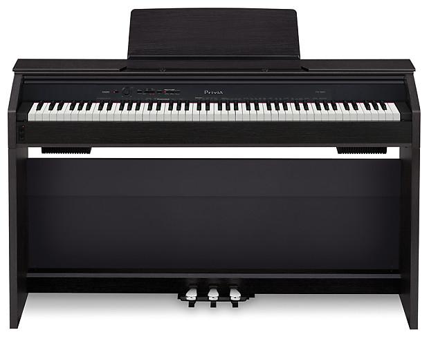 casio privia px 860 black finish digital upright piano reverb. Black Bedroom Furniture Sets. Home Design Ideas