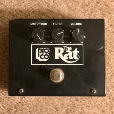 ProCo Rat Big Box Reissue with LM308 Woodcutter