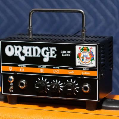 Orange Micro Dark 20-Watt Hybrid Guitar Amp Head
