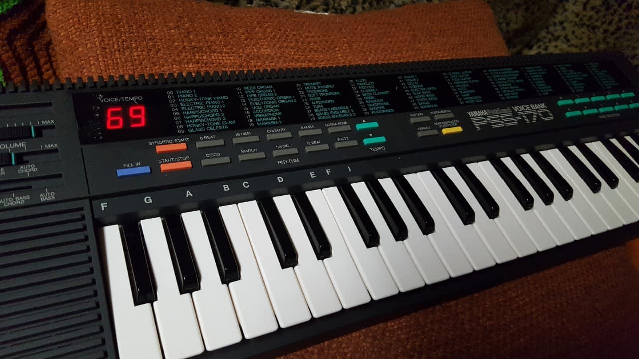 History Of Yamaha Pss Portasound Keyboard