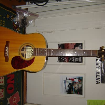 Goya 1990's 330 Acoustic guitar with hcs natural for sale