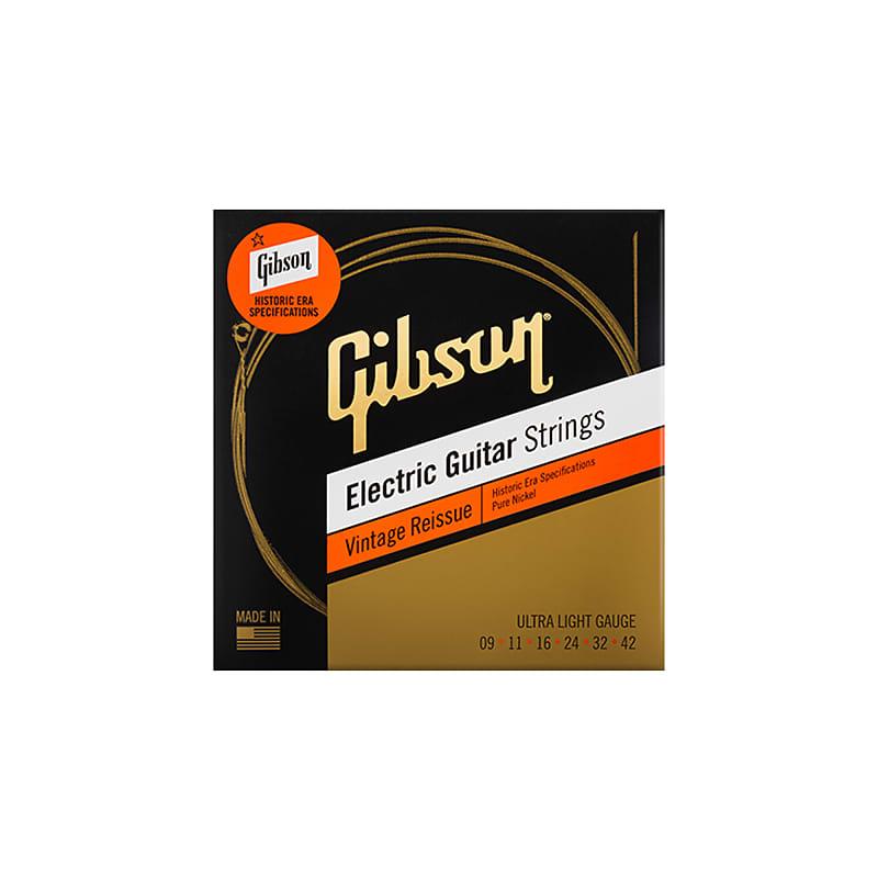 gibson vintage reissue electric guitar strings ultra light reverb. Black Bedroom Furniture Sets. Home Design Ideas