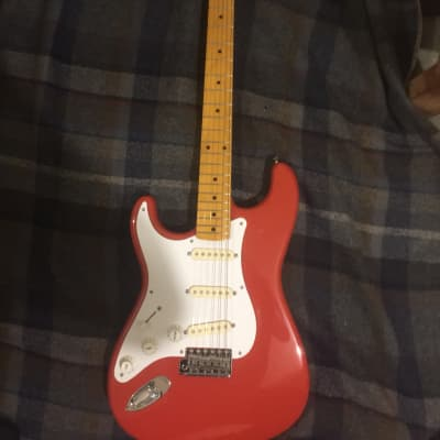 Fender ST57 2008-10 Fiesta Red for sale