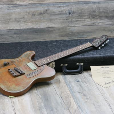 NEW! James Trussart Steelcaster Lefty Left Handed 2019 Rust O Matic + COA