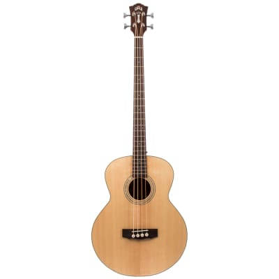 Guild B-140E Natural Westerly electro-acoustic bass guitar for sale