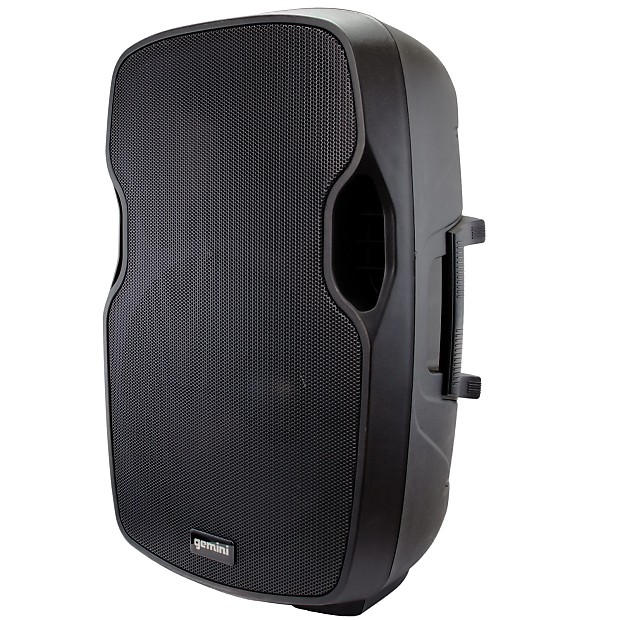 gemini as 15p 15 2000 watt powered live sound dj loudspeaker reverb. Black Bedroom Furniture Sets. Home Design Ideas
