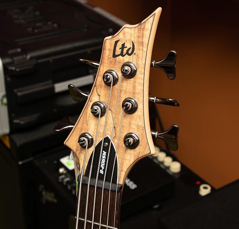 esp guitars lb206sm ltd b 206sm 6 string electric bass guitar reverb. Black Bedroom Furniture Sets. Home Design Ideas