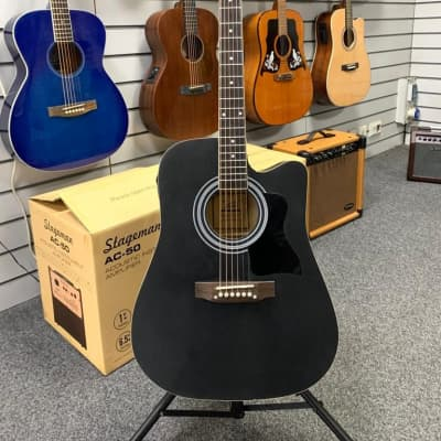Glarry Electro Acoustic - Used, Black for sale