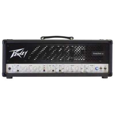 Peavey Invective.120 Tube Guitar Amplifier Misha Mansoor Amp Head Invective 120 (Open Box)