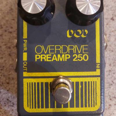 DOD Overdrive Preamp 250 Vintage 1970s