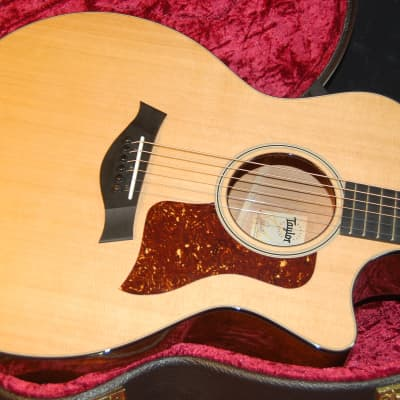 MINT! Taylor 514ce Western Red Cedar Top Tropical Mahogany Back Authorized Dealer -  V-Class SAVE!