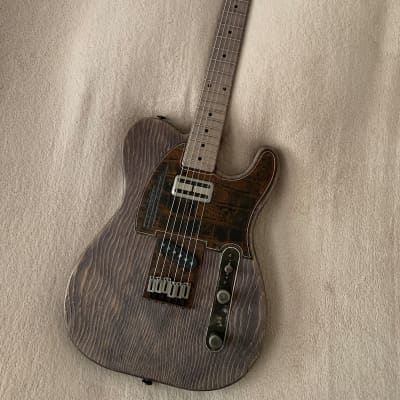 2020 James Trussart - RustoOMatic Gator Pinstripe SteelGuardCaster in Driftwood for sale