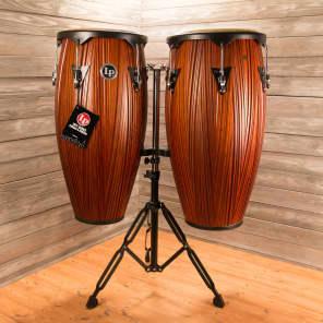 "Latin Percussion LP647NY-CMW City Series 11/12"" Conga Set w/ Stand"