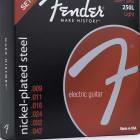 Fender 3 Pack Light Nickel-Plated Steel Guitar Strings 250L 9-42 073-0250-309 image
